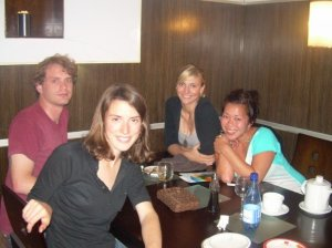 Japanese Dinner with friends at Matsuri in Casablanca, another more familiar style food.